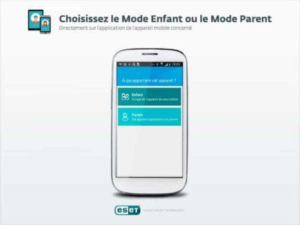 ESET Parental Control pour Android aperçu