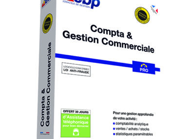 Acheter logiciel EBP Compta & Gestion Commerciale PRO pas cher sur Boutique PcLanD