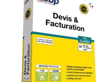 Acheter logiciel EBP Devis & Facturation Classic pas chez sur Boutique PcLanD