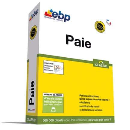 ebp logiciel paie classic 2018