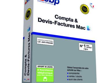 Acheter logiciel EBP Compta & Devis-Factures Mac pas cher sur Boutique PcLanD