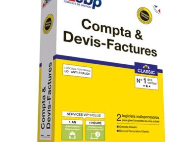 Acheter logiciel EBP Compta & Devis-Factures Classic pas cher sur Boutique PcLanD