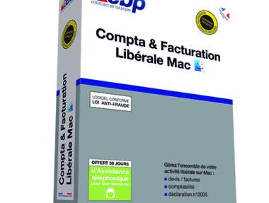 Acheter logiciel EBP Compta Facturation Libérale Mac pas cher sur Boutique PcLanD