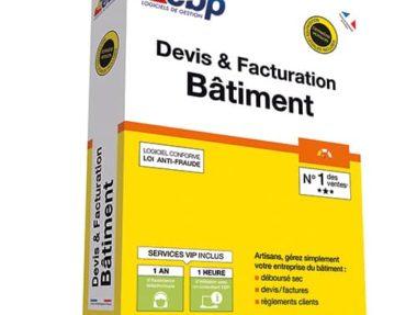 Acheter logiciel EBP Devis & Facturation Bâtiment pas cher sur Boutique PcLanD