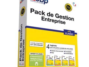 Acheter logiciel EBP Pack de Gestion Entreprise pas cher sur Boutique PcLanD