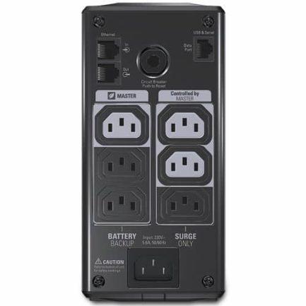 APC Onduleur Back UPS Pro 550VA 330 Watts BR550GI arriere