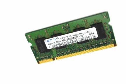 Samsung M470T2864QZ3-CF7 1GB DDR2 800 PC2-6400