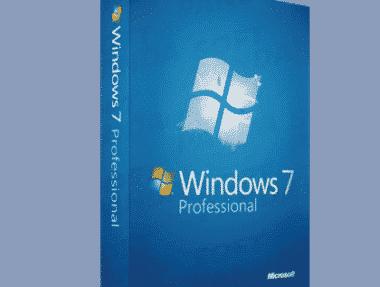 Microsoft Windows 7 Professionnel pas cher