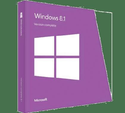 Microsoft Windows 8.1 home pas cher