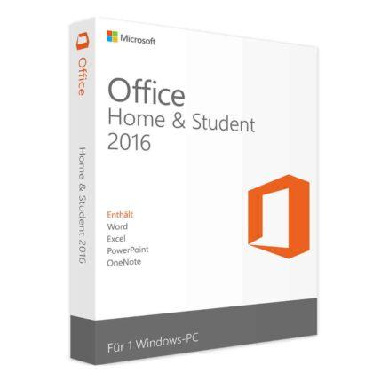 Microsoft office famille et étudiant 2016 (clé de produit)