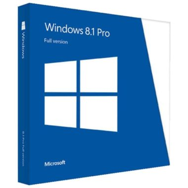 Acheter Microsoft Windows 8.1 Professionnel pas cher