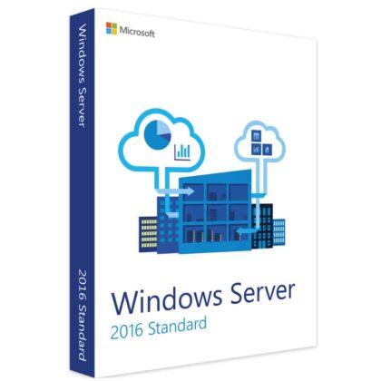 Acheter Microsoft Windows server standard 2016 clé de produit pas cher