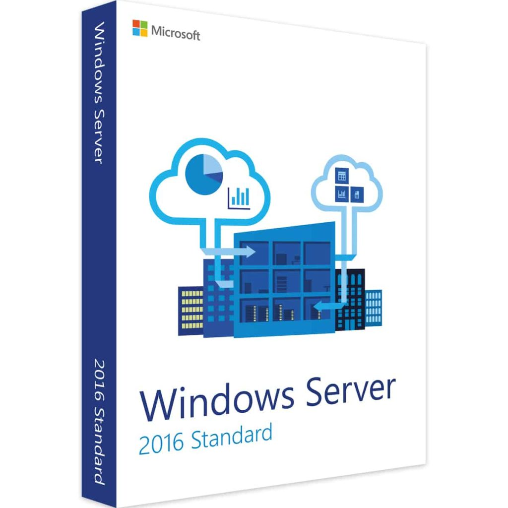 Acheter Microsoft Windows server standard 2016