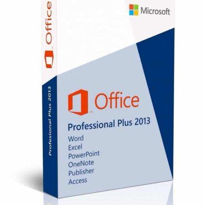 Acheter Microsoft Office Professionnel 2013 pas cher