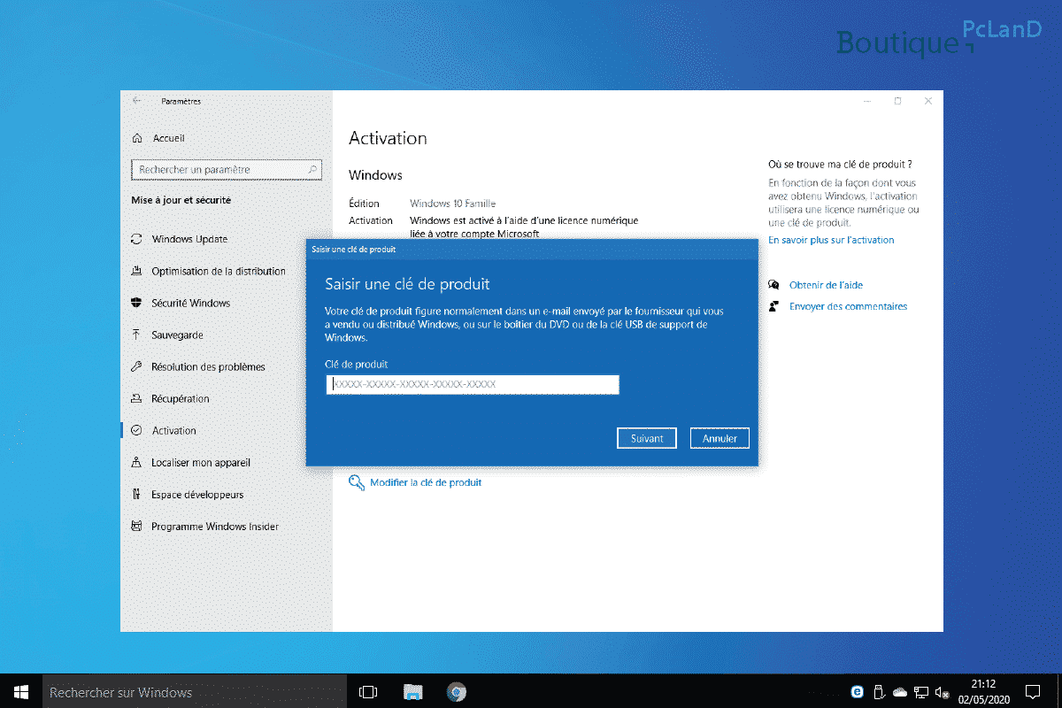 Comment activer Windows