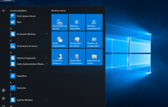 bureau Windows server 2016 activation