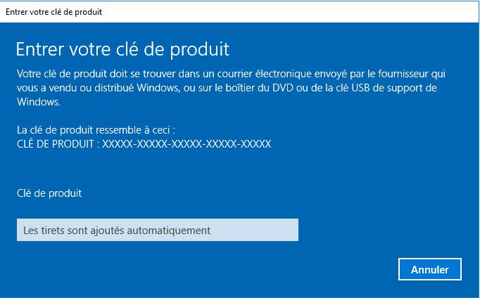 Windows server 2016 activation