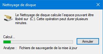 Comment supprimer un windows old nettoyage du disque