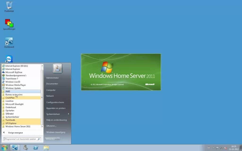 Freenas vs Windows home server 2011