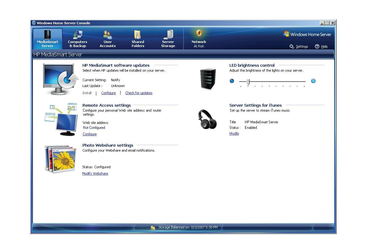 Qu'est ce que Windows home server
