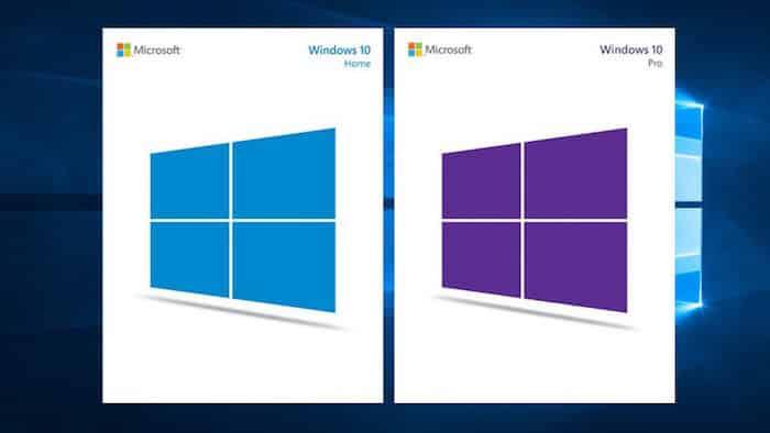 Mis à niveau Windows 10 famille vers Windows 10 professionnel