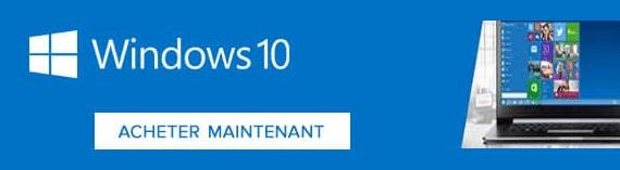 Où acheter Windows 10 ?