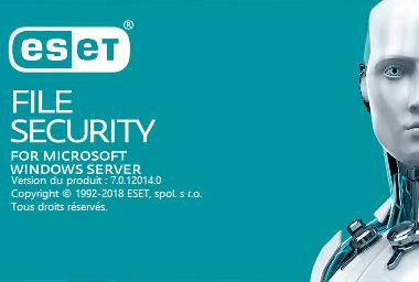 ESET File Security pour Microsoft Windows Server