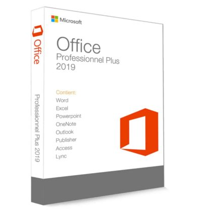Microsoft Office 2019 Professionnel Plus 32 64 Bit clé de produit