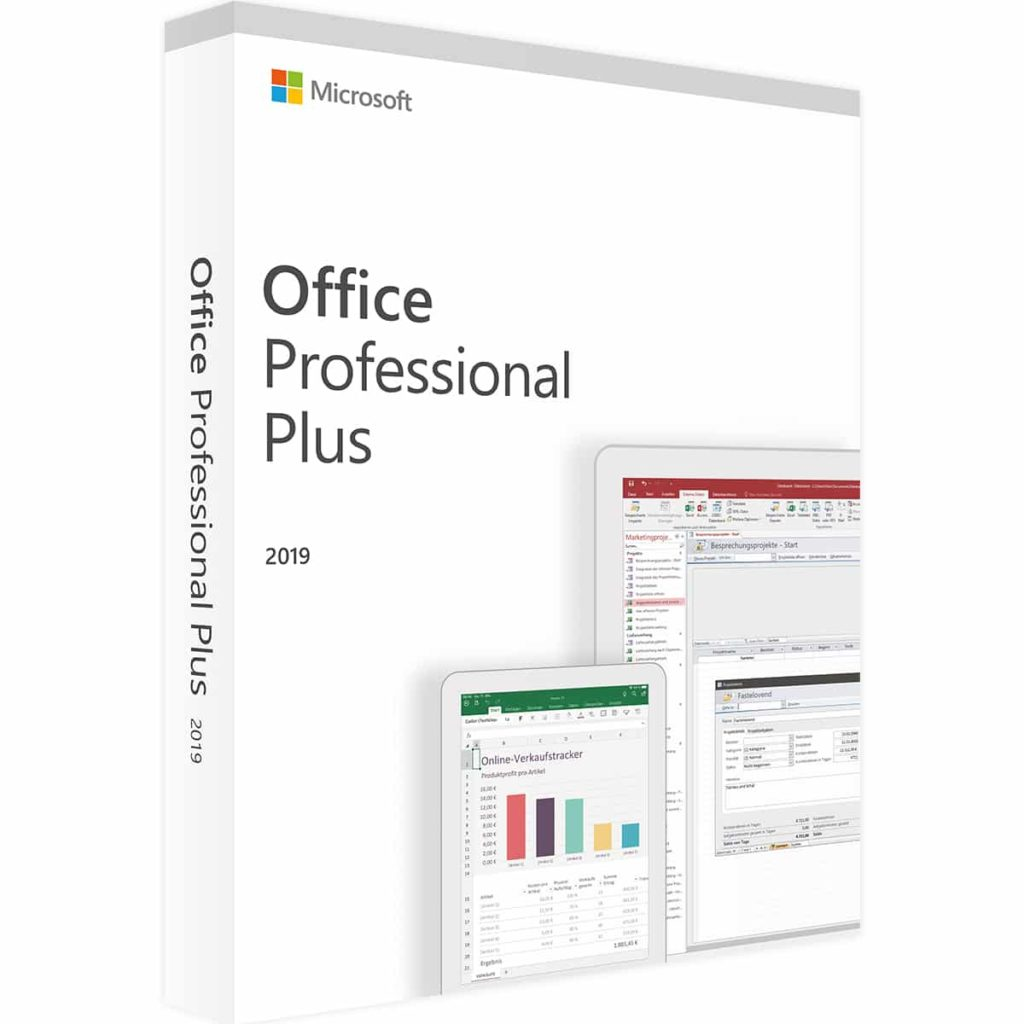 Microsoft office 2019 Professional Plus 32 64 Bits