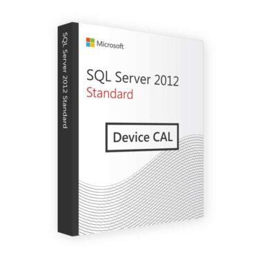 SQL SERVER 2012 DEVICE CAL