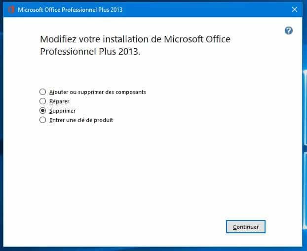 Comment désinstaller Office