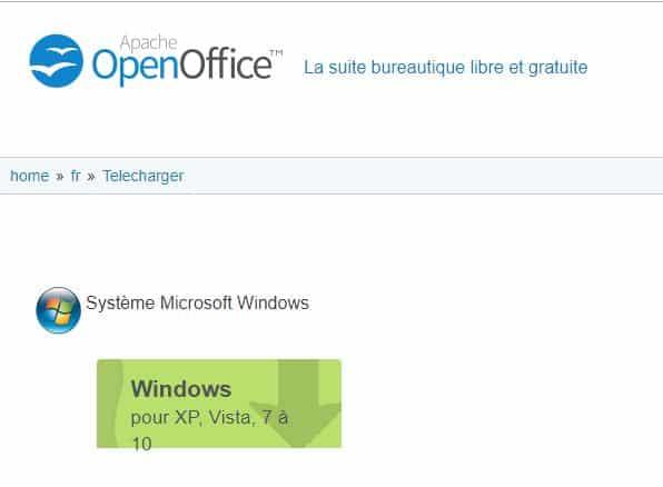 Comment t l charger open office boutique pcland - Open office a telecharger gratuit ...
