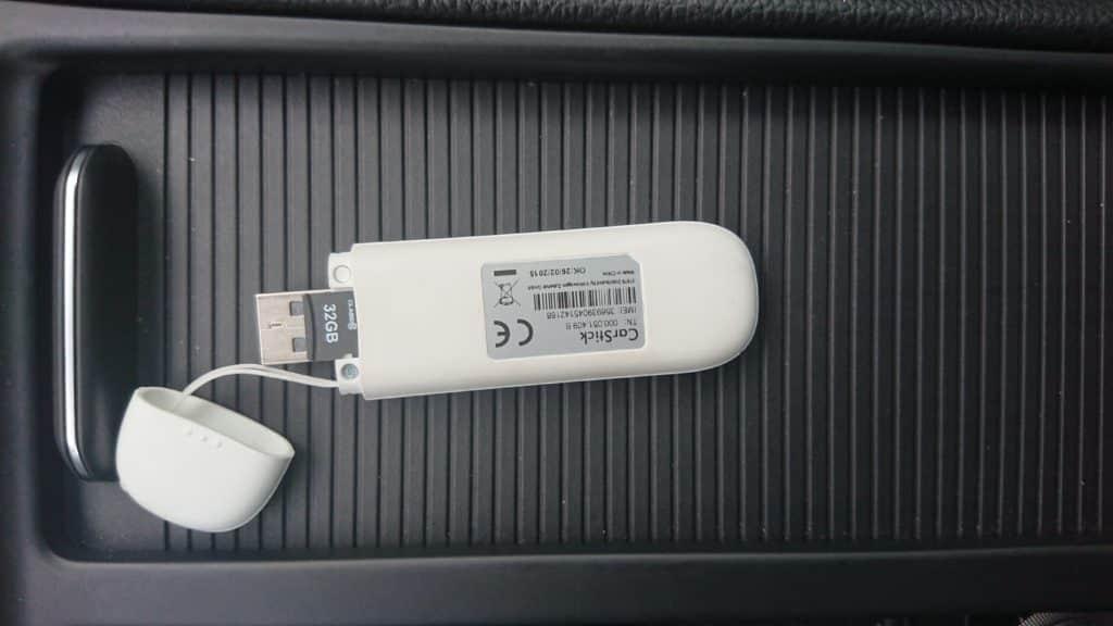 Sd Boîte Cle USB CarStick Volkswagen 000051409b