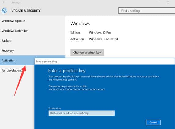 comment Activer Windows