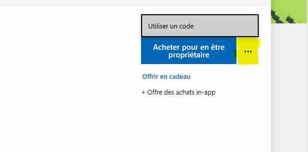Comment activé un jeu sur Windows Store