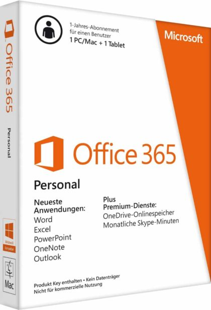Microsoft Office 365 1 user pas cher