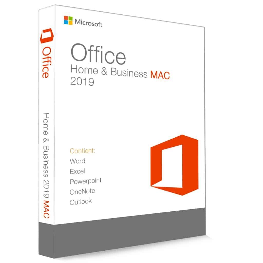 Microsoft office 2019 famille et petite entreprise mac clé de produit