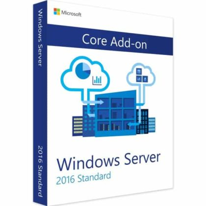 WINDOWS SERVER 2016 STANDARD CORE ADD-ON