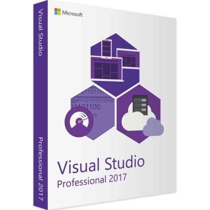 Achetez Microsoft Visual Studio Professional 2017 pas cher