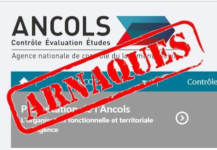 Ancols arnque boite mail fausse administration@ancols.info