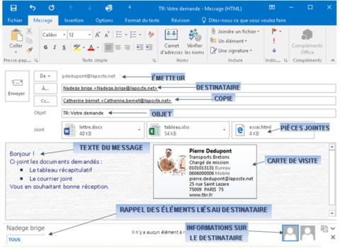 Comment utiliser Outlook 2016 Quelques astuces
