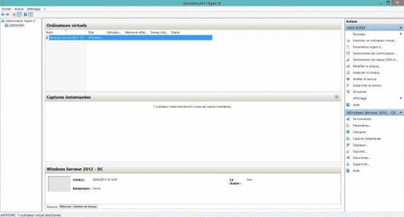 Activer Hyper-V sur Windows 8