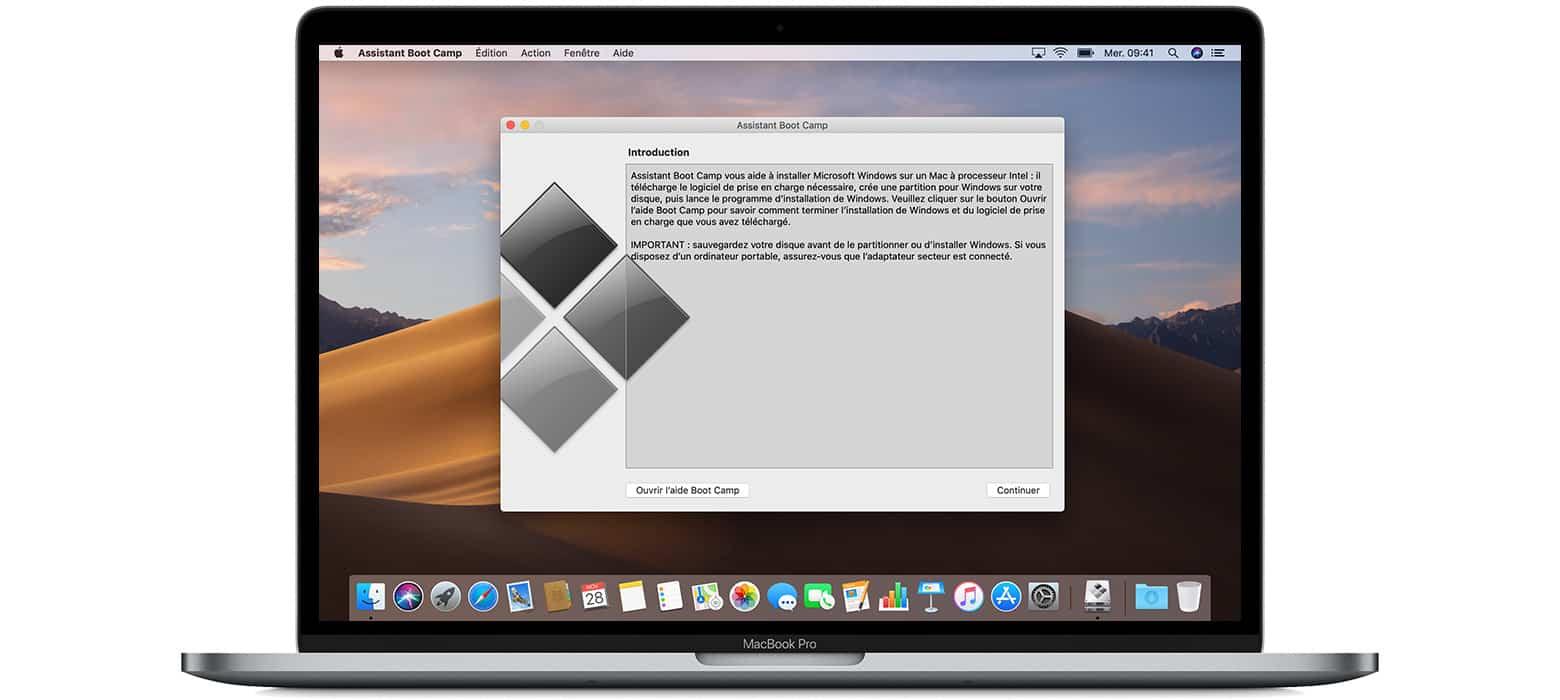 Windows 10 sur votre Mac