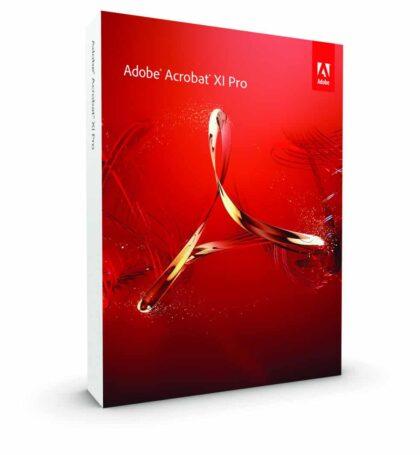 Adobe Acrobat XI Pro pour Windows