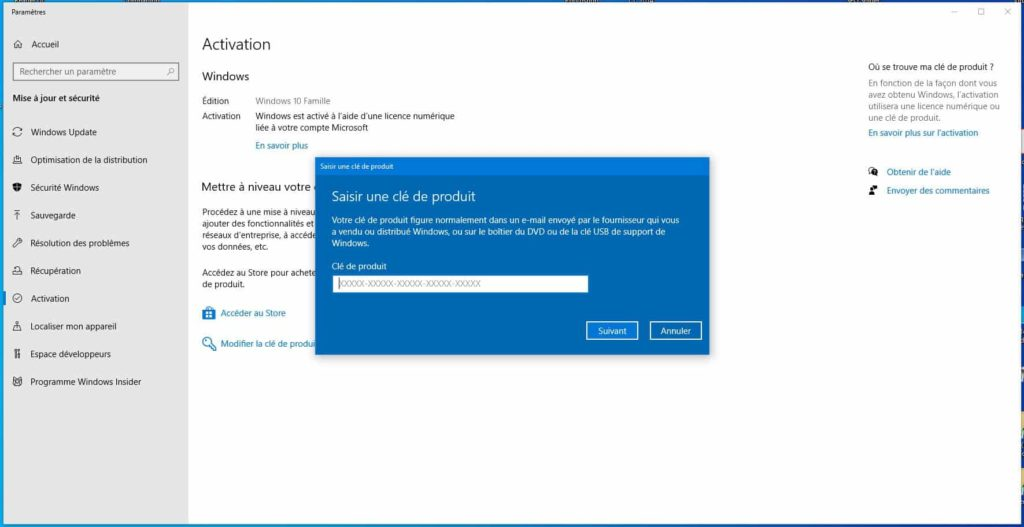 Slui 04 ne fonctionne pas sous Windows 10