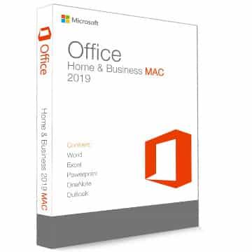 pack office 2019 mac