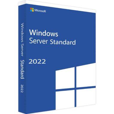 Microsoft windows server 2022 standard edition