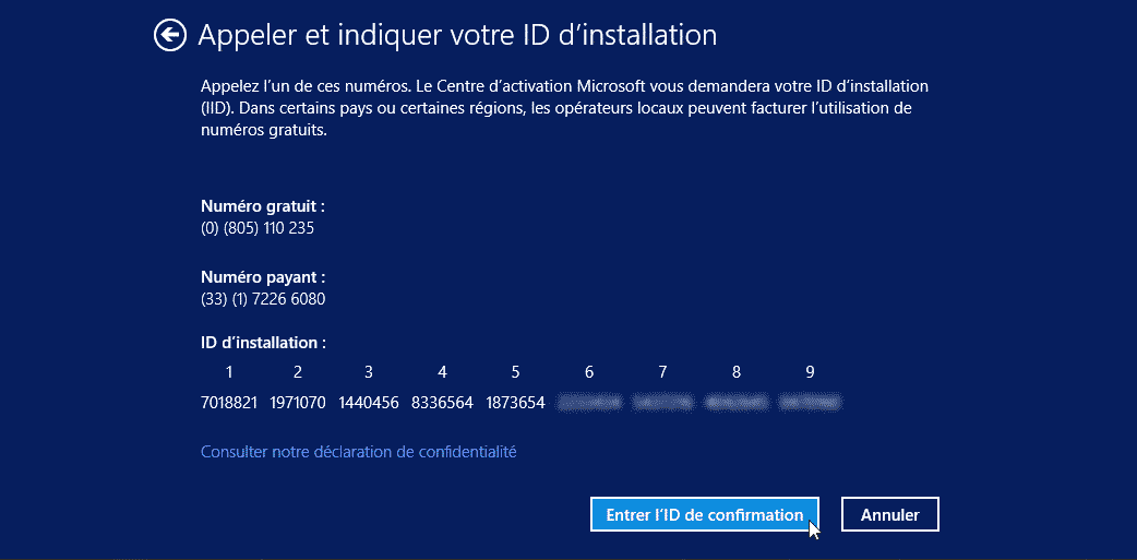activation de windows 10 aperçu