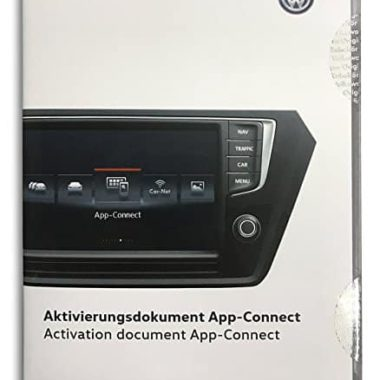 Activation document app-connect Volkswagen 5G0-054-830-A