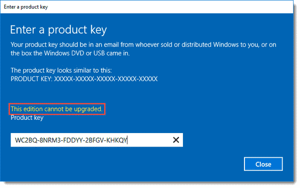 Comment activer Windows server 2016 standard